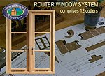 Wealden router window system